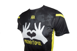 web camiseta masculina POL2 lateral